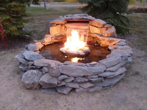 Fire and water formal fountain kits for Fire and water features