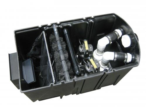 Easypro axiom series pond skimmers for Used pond filters and pumps