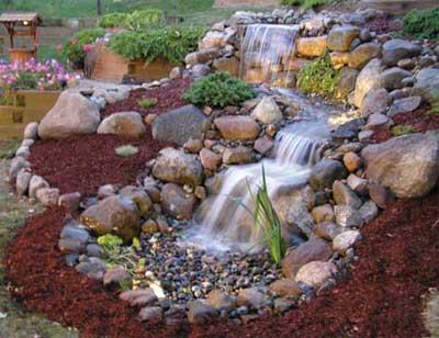 Beau Pondless Waterfall